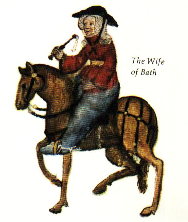 canterbury tales the wife of bath Get to know the wife of bath, one of the pilgrims in the canterbury tales she is a strong willed woman, married five times and on the look out for number six never.