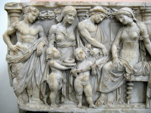 Medea sends the children with gifts for Glauce. Glauce will not live to enjoy spousal hood!Source: http://www.medea.org/medea-sending-gifts-to-king-creons-daughter-glauce/